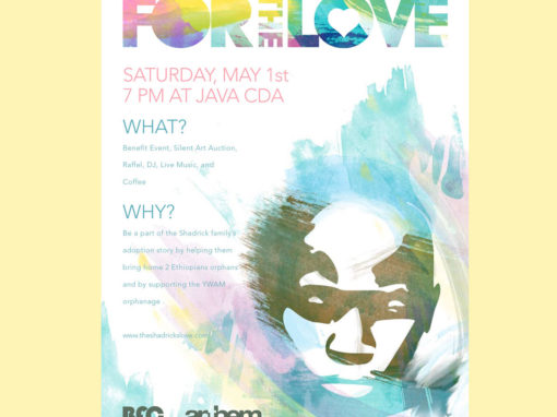 For the Love Flyer