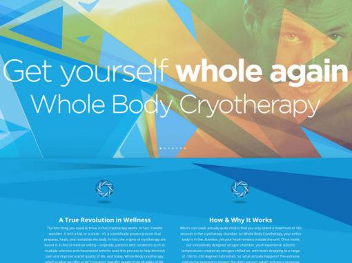 OCCRYOSPORT Website Package