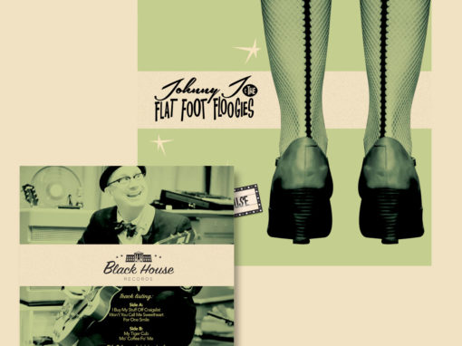 Johnny J Album Cover Design