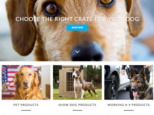 Kennectpet Website Design