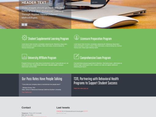 TSM Web Concept